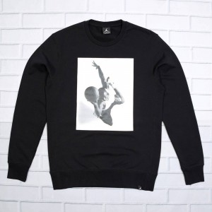 Jordan Men Sportswear Legend Flight Lite Crewneck (black)