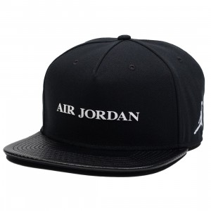 Jordan Men Unisex  Jumpman Pro AJ 10 Cap (black / white)