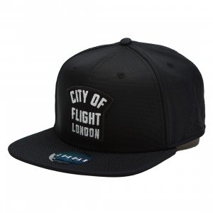 Jordan City of Flight - London  Snapback Cap (black)