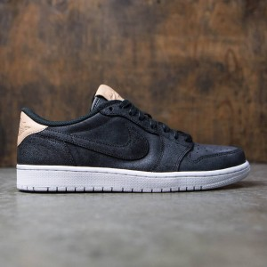 Air Jordan 1 Retro Low OG Premium Men (black / vachetta tan-white)