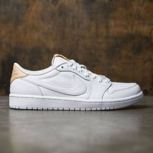 Air Jordan 1 Retro Low OG Premium Men (white / vachetta tan-white)