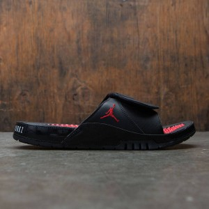 Jordan Men Hydro XI Retro Slide (black / university red-university red)