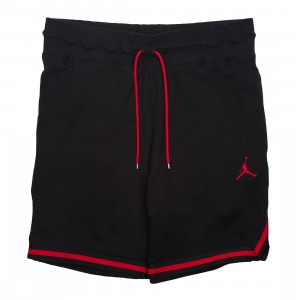 Jordan Men Sportswear Wings Lite 1988 Fleece Shorts (black / gym red)