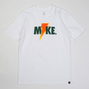 Jordan Men Sportswear Like Mike Lightning Tee (white)