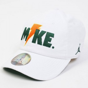 Jordan Men Unisex Heritage86 Like Mike Hat (white / pine green / white)