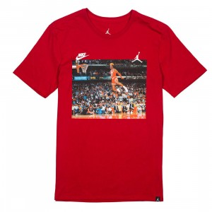 Jordan Men Sportswear 1988 Dunk Tee (red / gym red)