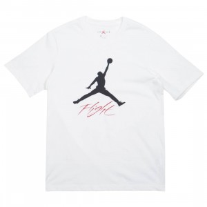 Jordan Men Jumpman Flight Tee (white / black)