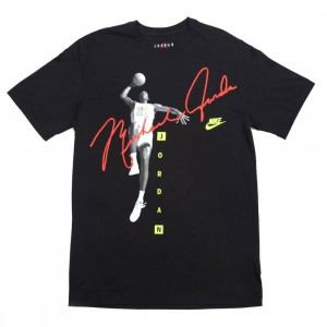 Jordan Men Photo Signature Tee (black)
