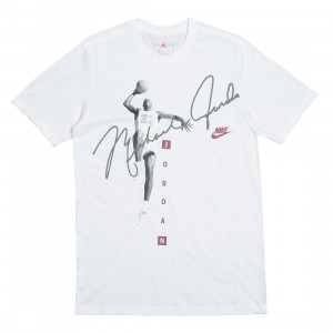 Jordan Men Photo Signature Tee (white)