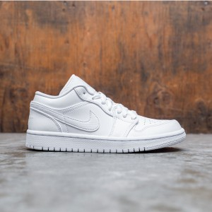 Air Jordan 1 Low Women (white / white-white)