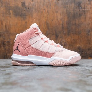 Jordan Big Kids Max Aura (washed coral / dk smoke grey-pink quartz)