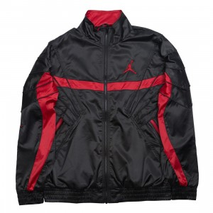 Jordan Men Sportswear AJ 5 Jacket (black / gym red / gym red)