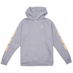 Jordan Men Remastered Hoody (gunsmoke / metallic gold)