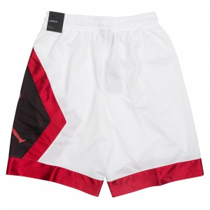 Jordan Men Jumpman Diamond Shorts (white / gym red / black / gym red)