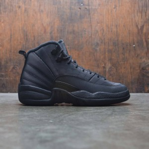 AIR JORDAN 12 RETRO WNTR (GS) Big Kids (black / black-anthracite)