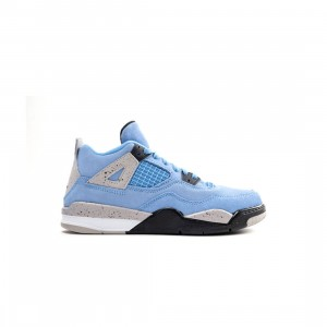 Jordan Little Kids Jordan 4 Retro (university blue / black-tech grey-white)