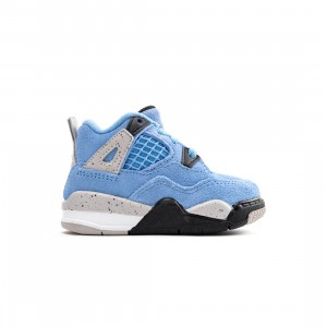 Jordan Toddlers Jordan 4 Retro (university blue / black-tech grey-white)