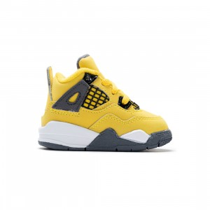 Jordan Toddlers 4 Retro (tour yellow / dark blue grey-white)