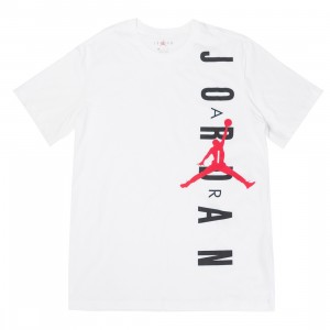 Jordan Men JSW HBR VERTICAL Tee (white / gym red)