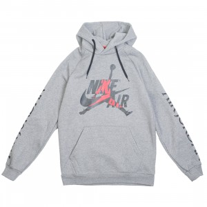 Jordan Men Jumpman Classics Hoody (carbon heather / black)