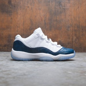 AIR JORDAN 11 RETRO LOW LE GS Big Kids (white / black-navy)
