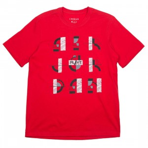 Jordan Men Legacy LGC AJ4 TEE (university red)