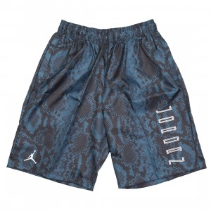 Jordan Men AJ11 Snakeskin Shorts (navy / white)