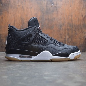 AIR JORDAN 4 RETRO SE Men (black / white-gum light brown)