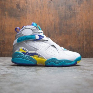 Air Jordan 8 Retro Women (white / varsity red-bright concord)