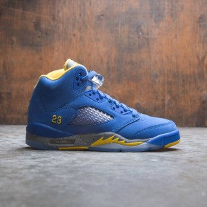 AIR JORDAN 5 LANEY JSP (GS) Big Kids (varsity royal / varsity maize)