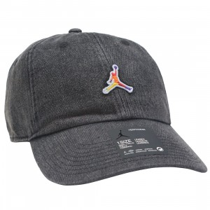 Jordan Men Heritage86 Washed Denim Cap (black)