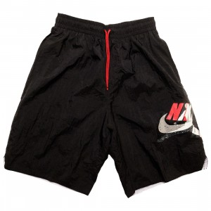 Jordan Men Jumpman Classics Shorts (black / gym red / white)
