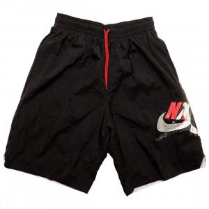 Jordan Men Jumpman Classics Shorts (black / gym red / white)