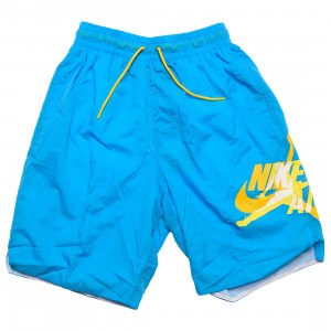 Jordan Men Jumpman Classics Shorts (equator blue / amarillo / equator blue)