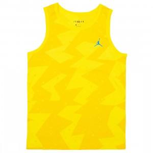 Jordan Men Printed Poolside Tank Top (amarillo)