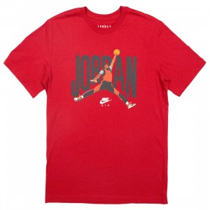 Jordan Men Tee (gym red)