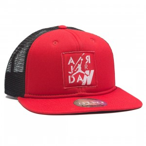 Air Jordan IV Pro Snapback Cap Men (university red / black)