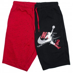 Jordan Men Jumpman Classics Shorts (black / gym red)