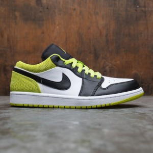 Jordan Men Air Jordan 1 Low SE (black / black-cyber-white)