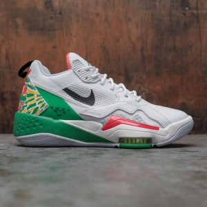 Jordan Men Zoom '92 (summit white / black-lucky green-track red)