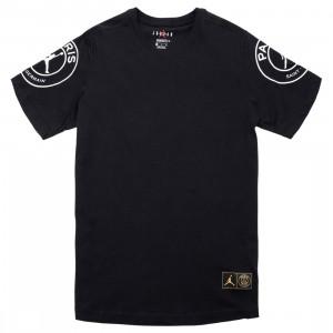 Jordan Men Jordan x Paris Saint-Germain Logo Tee (black)