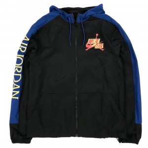 Jordan Men Jumpman Classics Hoody (black / deep royal blue / track red)