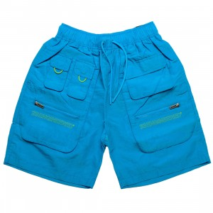Jordan Men 23 Engineered Utility Shorts (laser blue / cyber)