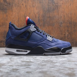 Air Jordan 4 Retro WNTR Men (loyal blue / black-white-habanero red)