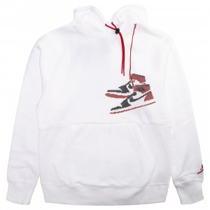 Jordan Men Jordan Jumpman Holiday Hoody (white)