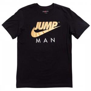 Jordan Men Jumpman Tee (black / metallic gold)