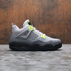 Air Jordan 4 Retro SE Big Kids (cool grey / volt-wolf grey-anthracite)