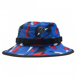 Jordan Men x PSG Paris Saint-Germain Bucket Hat (hyper cobalt)