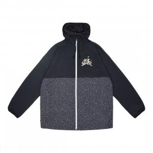Jordan Men Jumpman Classics Jacket (black / white / smoke grey / metallic gold)