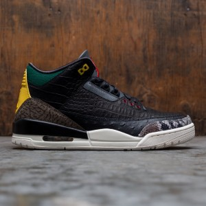 Air Jordan 3 Retro SE Men (black / black-white-gorge green)